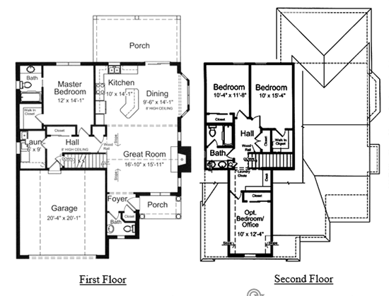 The Clarkston II floor plan