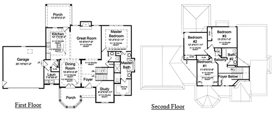 The Copper Ridge floor plan