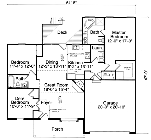 The Parkview floor plan
