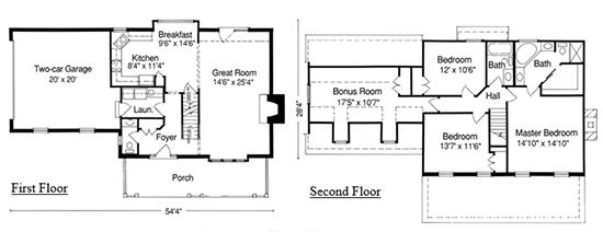The Providence Floor Plan Zeilman James Homes Inc