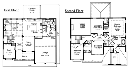 The Westgate floor plan