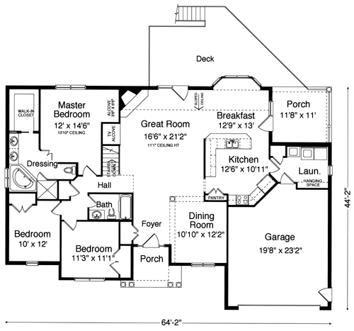 The Wexford II floor plan